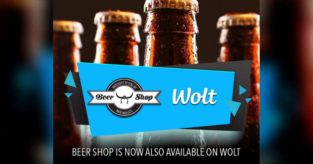 Beer Shop partners with wolt so you can enjoy the experience at home in less than 60 minutes!
