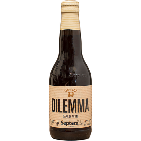 Septem Dilemma Barley Wine - The beer shop by Moondog's