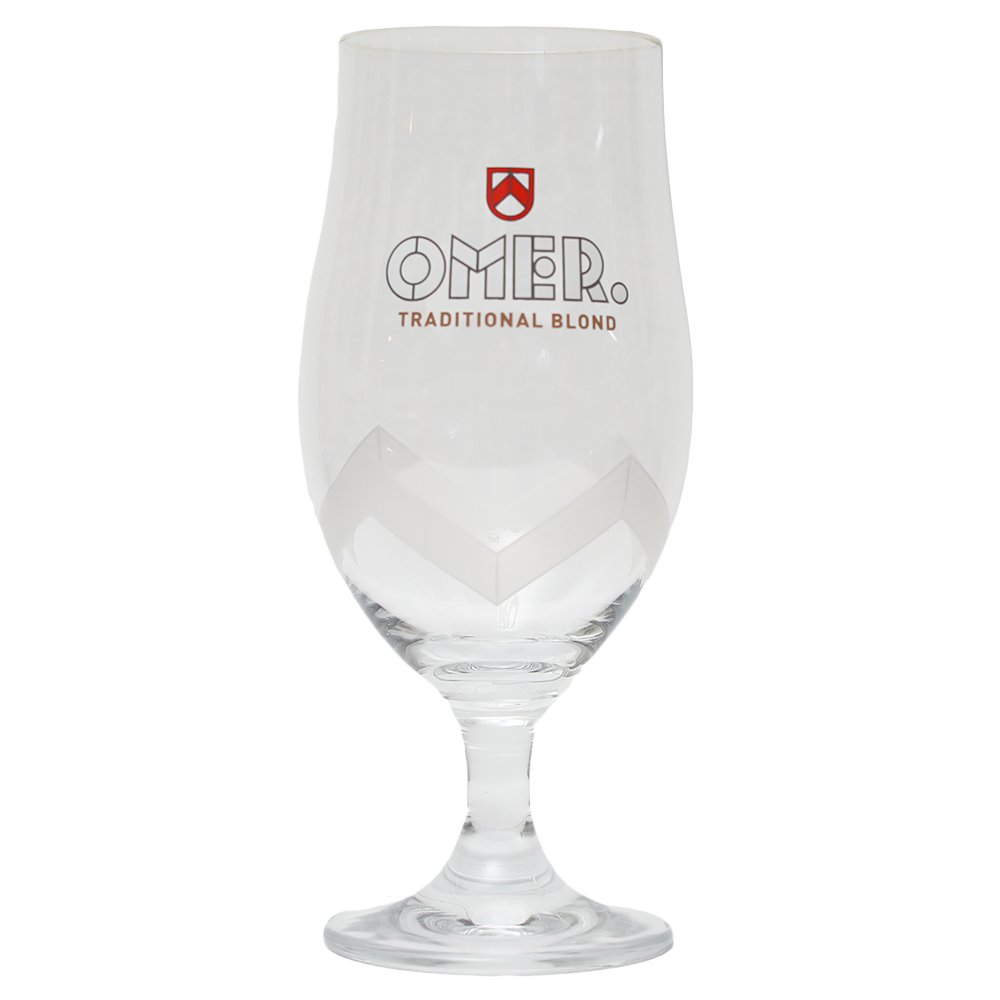 Omer Beer Glass 0.33cl