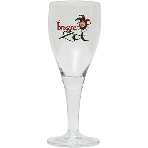 Brugse Zot Glass 0.33cl - The beer shop by Moondog's