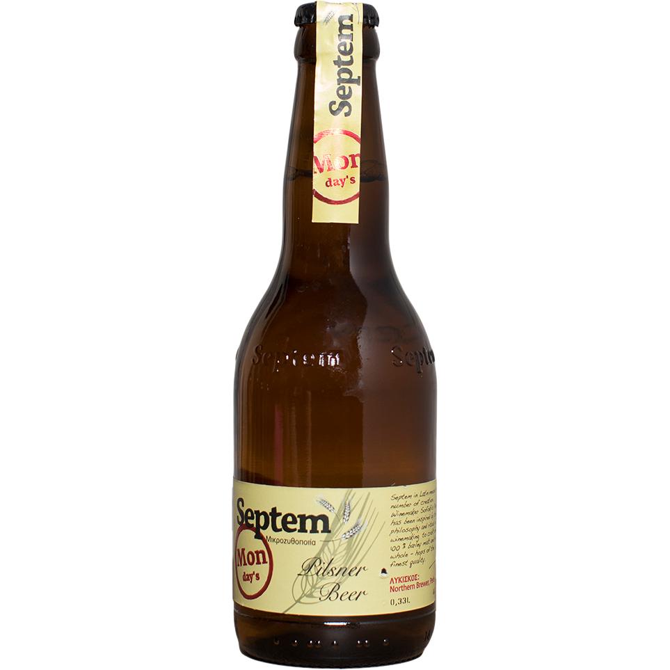 Septem Monday's Pilsner - The beer shop by Moondog's
