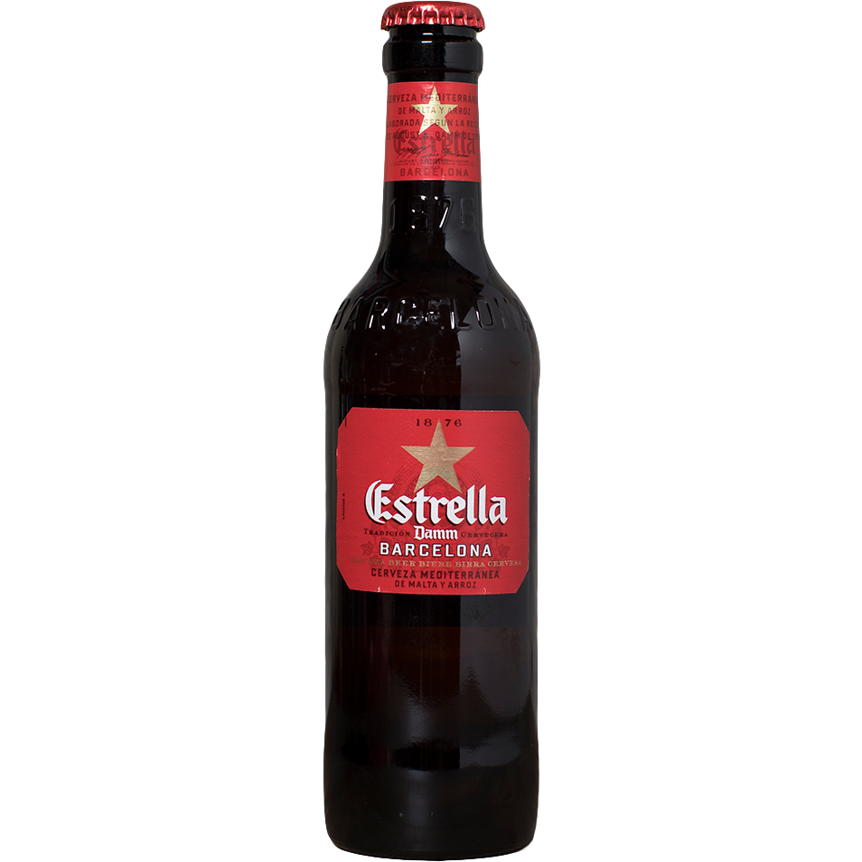 Estrella Damm - The beer shop by Moondog's