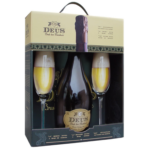 Deus Gift Pack (1 x 75cl + 2 Glasses)