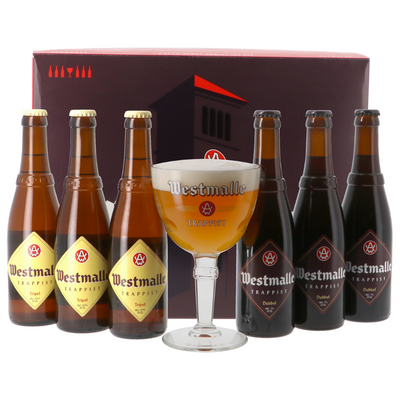 Westmalle Gift Pack (6 X 33cl + Glass)