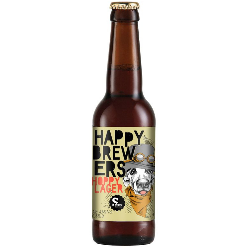 Hoppy Lager by Happy Brewers