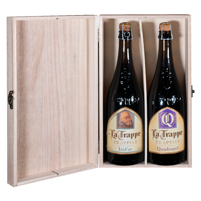 La Trappe Quadrupel / Isid'Or Gift Pack (2 X 75cl)