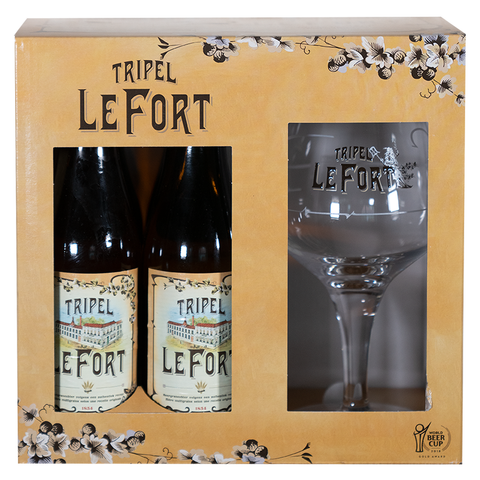 Le Fort Tripel Gift Pack (4 X 33cl + Glass)