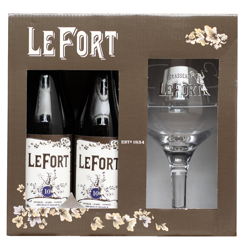 Le Fort Gift Pack (4 x 33cl + Glass)