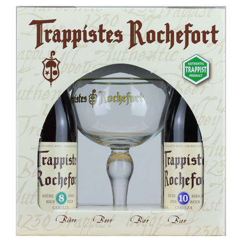 Rochefort mix Gift Pack (4 X 33cl + Glass)
