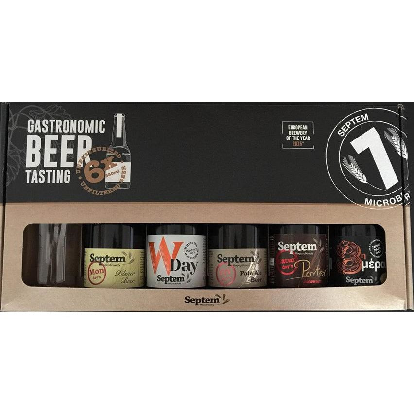 SEPTEM - Gift Pack (5x Beers + 1x Glass) - The beer shop by Moondog's