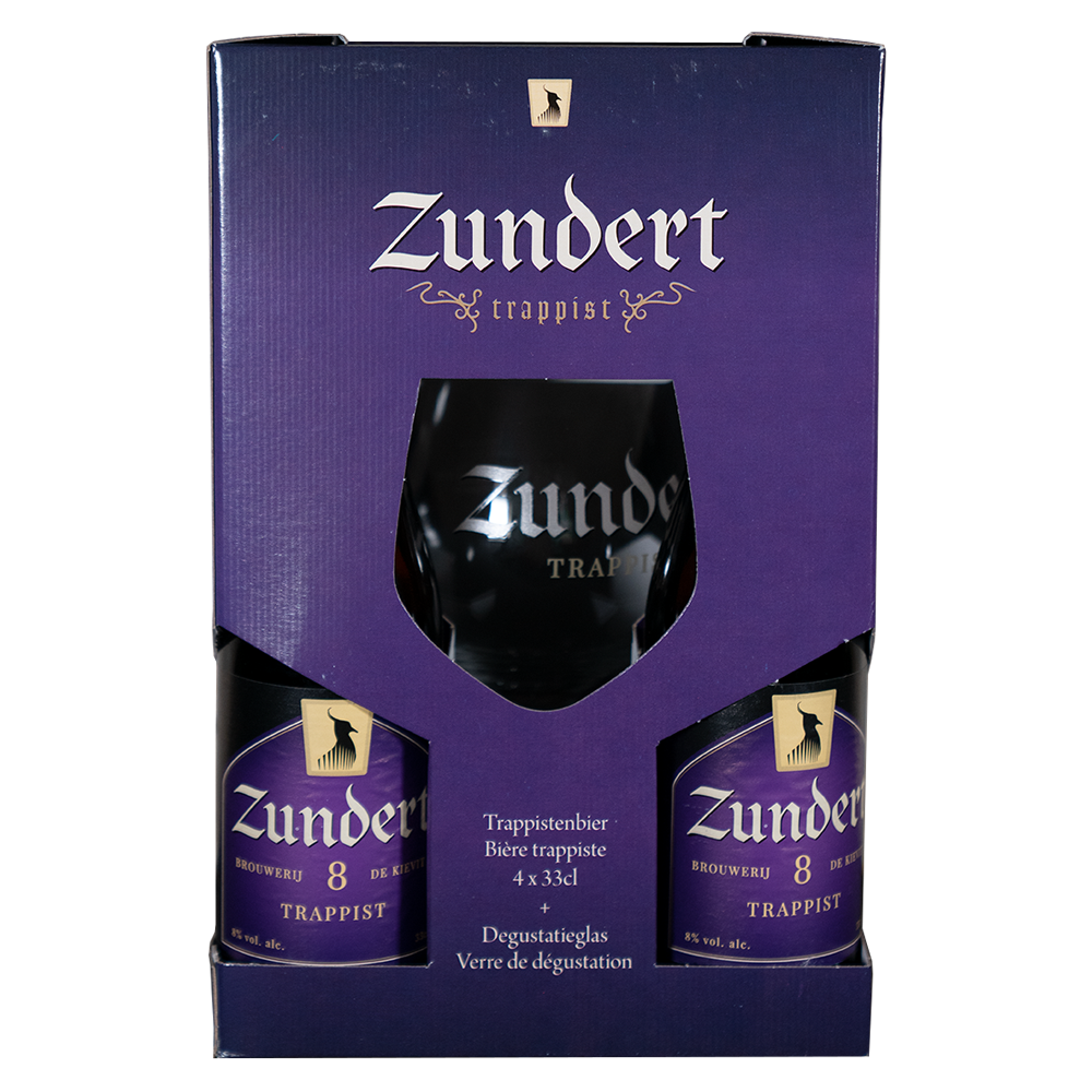Zundert Gift Pack (4 X 33cl + Glass)