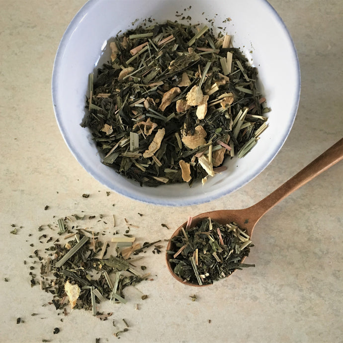 Green Tea Blend - Ginger Mint