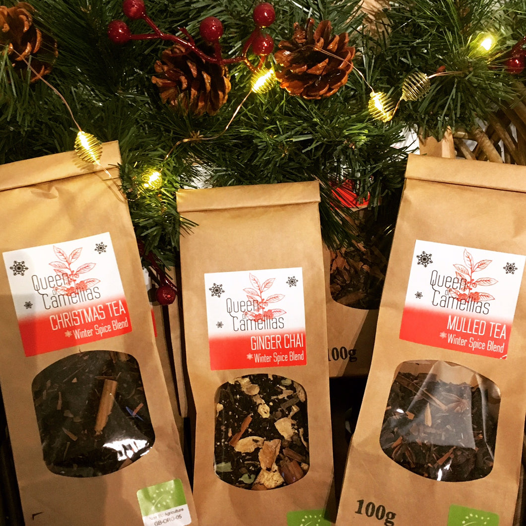 Christmas Tea - Organic Loose Leaf Black Tea Blend