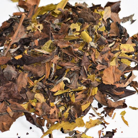 Organic Loose Leaf White Tea - Bai Mu Dan 'White Peony'
