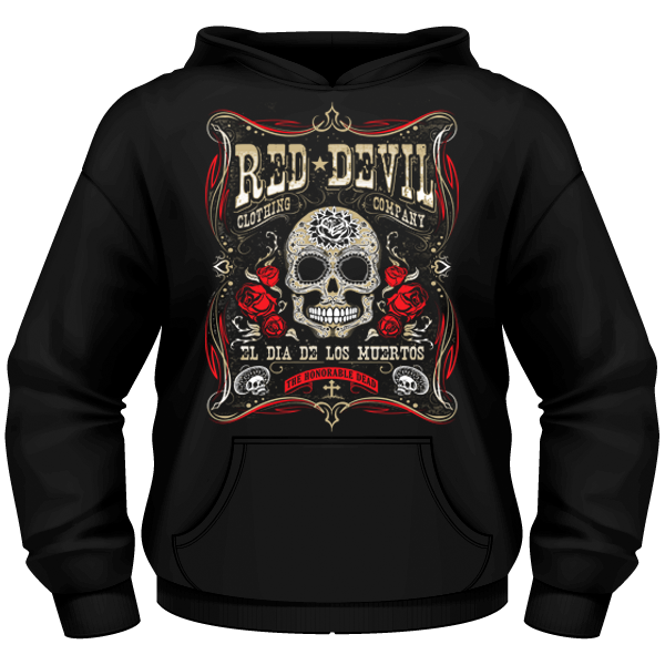 Men's Day of the Dead Hoody