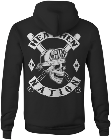 Heathen Nation Zip Up Hoody