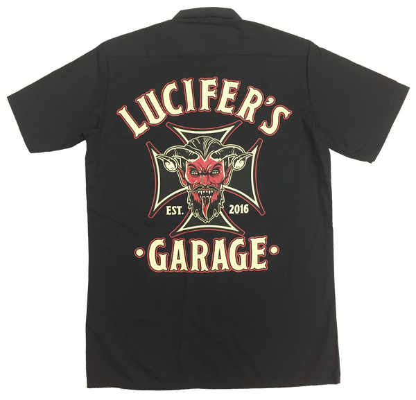 Lucifer's Garage Ironcross Workshirt