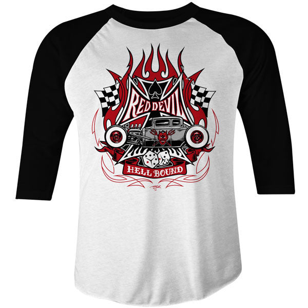 Men's hellbound Raglan