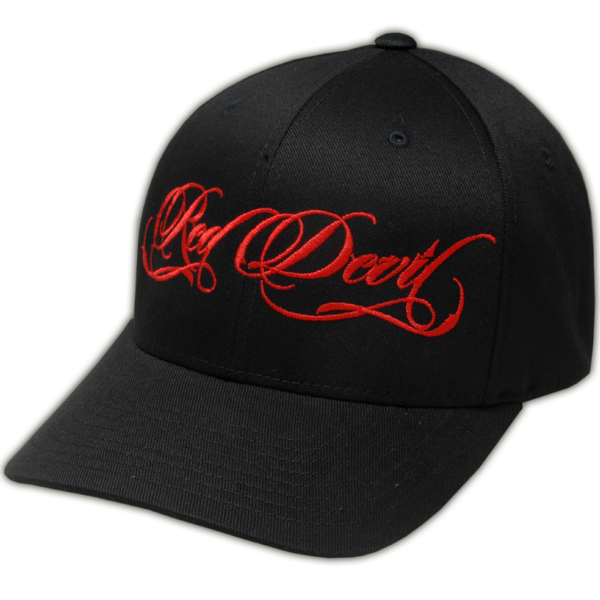 Red Devil Script Hat