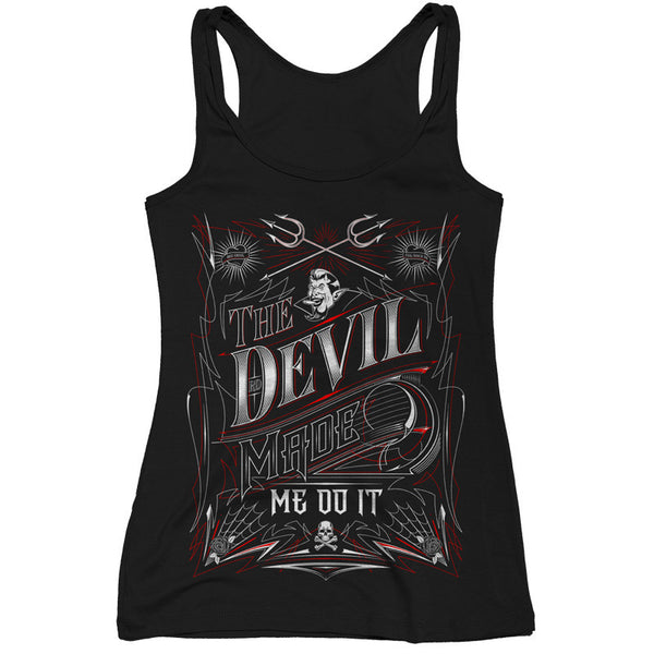 Women's The Devil Made Me Do It Tank