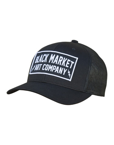Black Market Electric Retro Trucker Hat