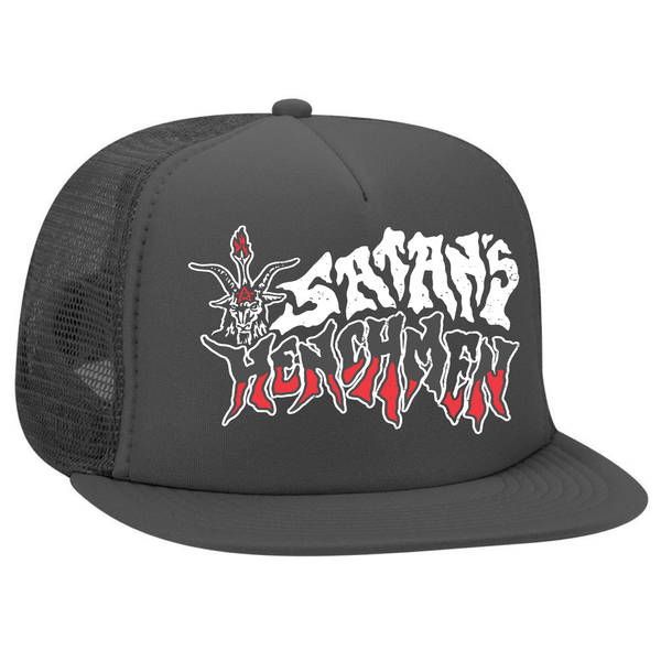 "Satan's Henchmen ""Baphomet"" Foam Trucker Hat"