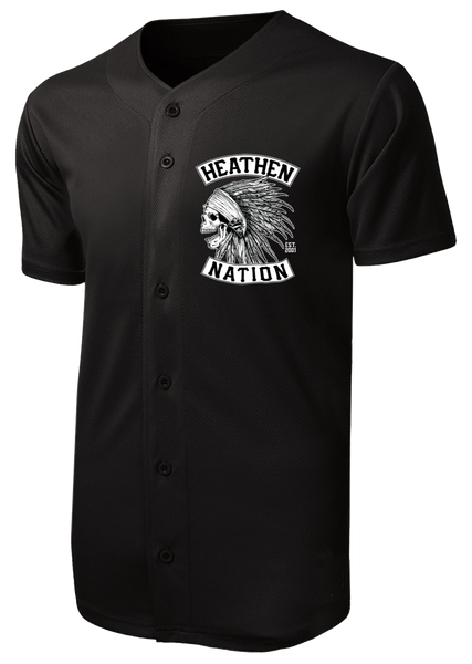 Chief Button-Up Baseball Jersey