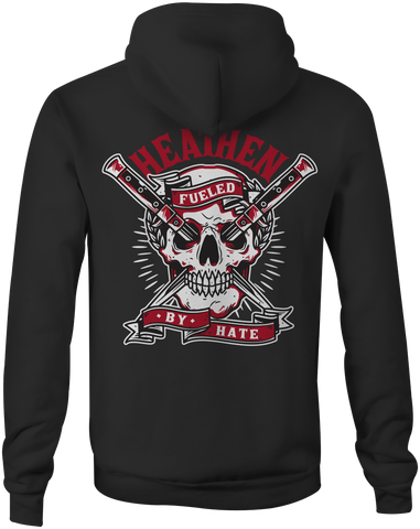 "Heathen 'Fueled By Hate"" Pullover"