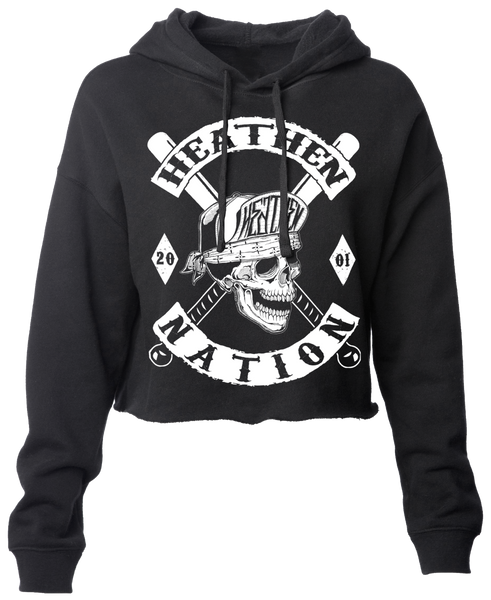 Women's Heathen Nation Crop Hoodie
