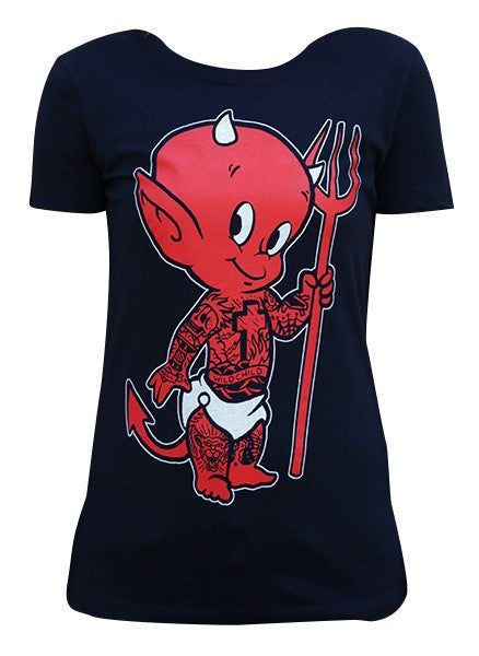 Lil Devil Womens T-Shirt