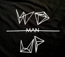 """WOmanUP"" T-Shirt Black"