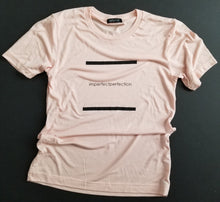 """Imperfectperfection"" T-Shirt Pasty Peach"