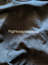 HIGHLY SAPIOSEXUAL Tee BLACK