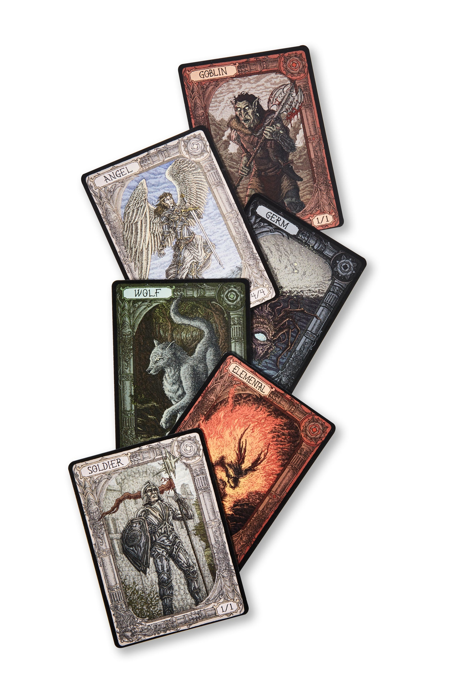 Monastery Lore Tokens Set