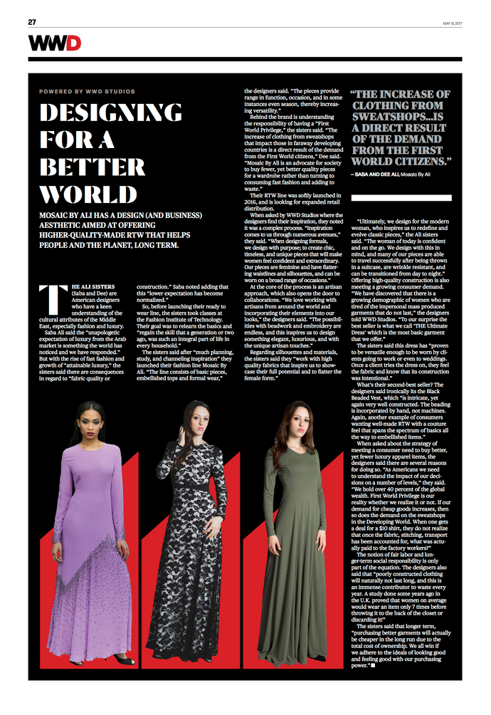 WWD - Designing For A Better World