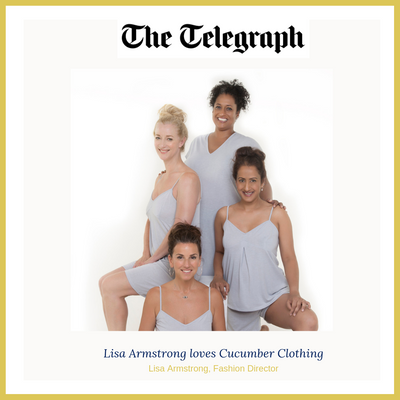 Lisa Armstrong loves Cucumber Clothing