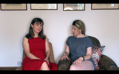 Cucumber's vlogging with Rachel Lankester, founder of Magnificent Midlife and The Mutton Club