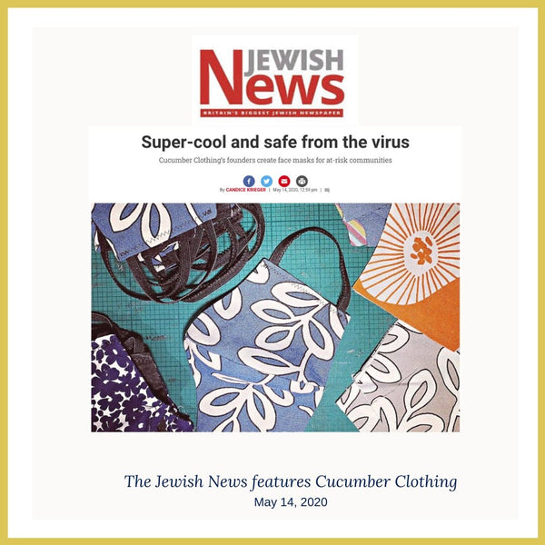 The Jewish News loves Cucumber Clothing