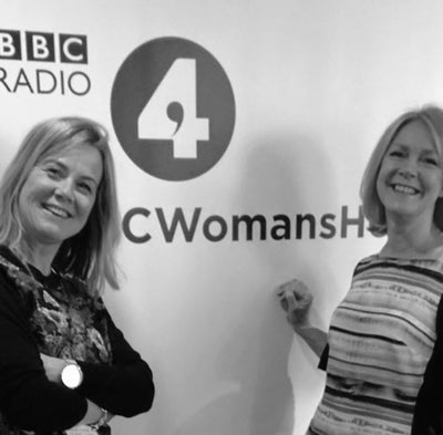 Jo and Ann from Hot Flush on Life, the Menopause and Everything