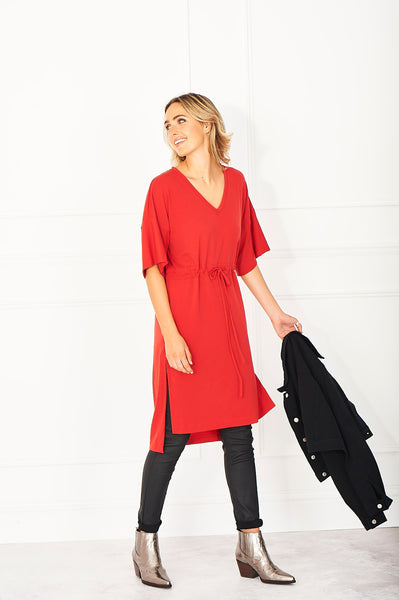 cashmere dress with jeans