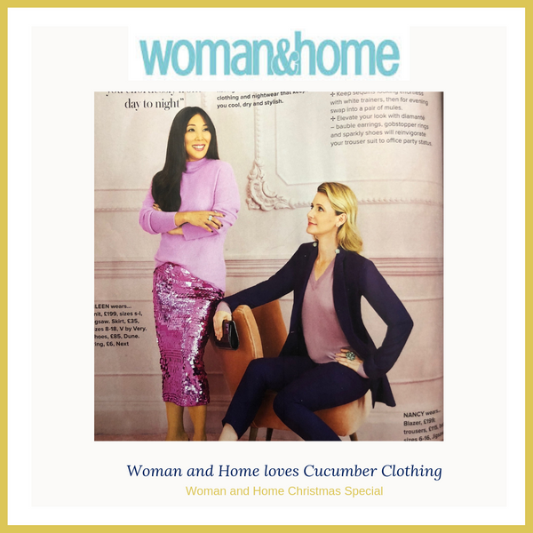 eileen and nancy feature in the woman and home christmas special