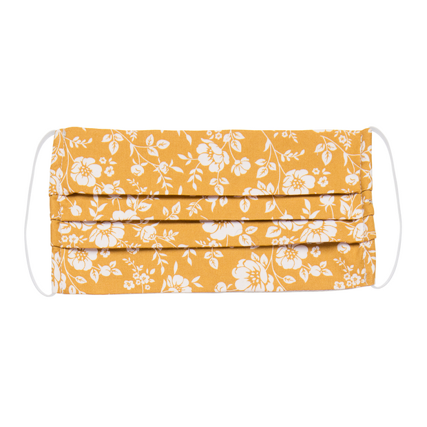 Mask Ochre Floral