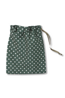 Mask Bag in Green Dots