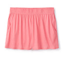 Shirred Shorts in Raspberry