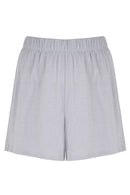 PJ Shorts in Silver