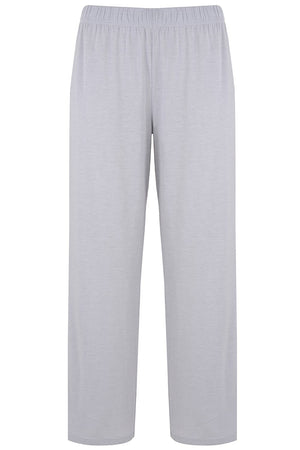 Silver Cropped PJ Bottoms