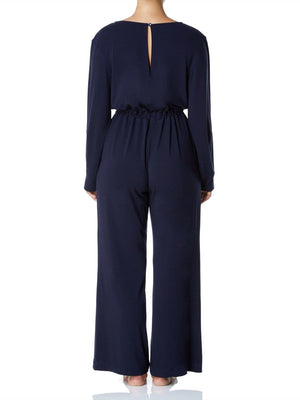 Cashmere Collection Jumpsuit, Dark Navy
