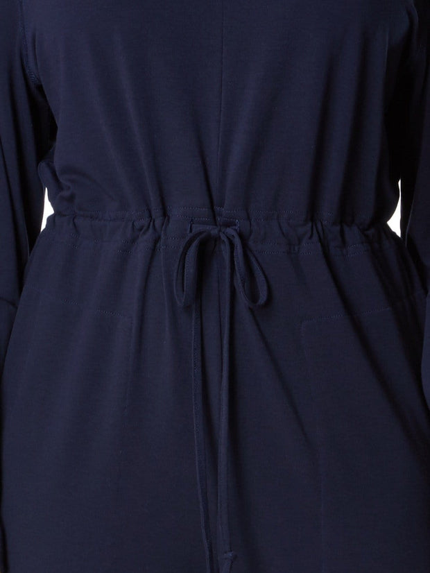 Cashmere Jumpsuit in Dark Navy