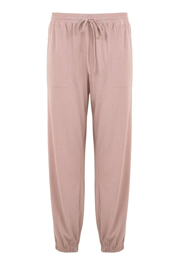 Jersey Track Pant in Rose