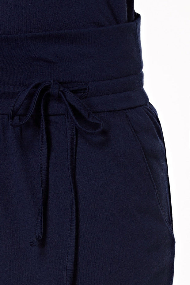 Harem Pants in Navy